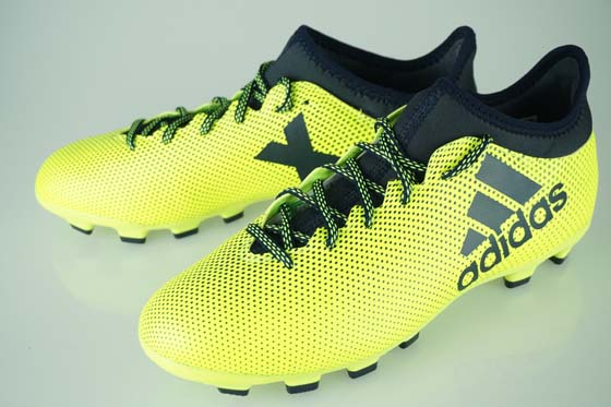 the best attitude 07caa 2a3a2 17FW soccer spikes Adidas X 17.3HG solar yellow / legend ink F17/ legend  ink F17 S82373