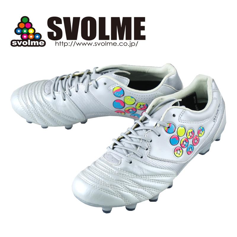サッカー スパイク スボルメ DELSALMA-4 LE 183-92060 ユニセックス シルバー メンズ・レディース兼用