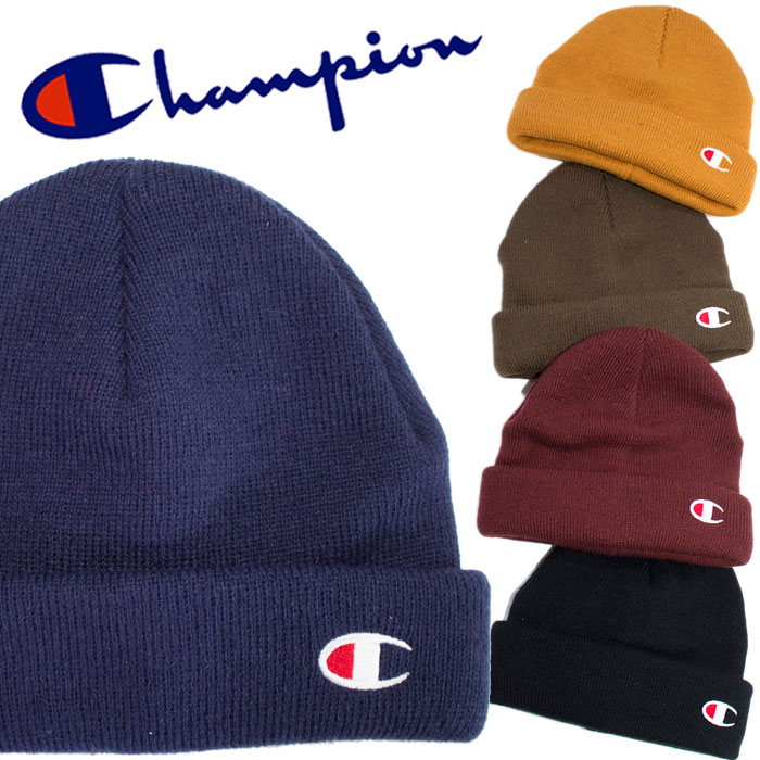 d88a54008f7 ... czech a knit cap of champion champion where i embroidered a brand logo  on by one