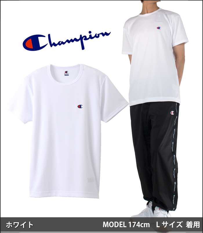 1e1ef02d PLAYERZ: Champion T-shirt CHAMPION water absorption quick-drying dry ...