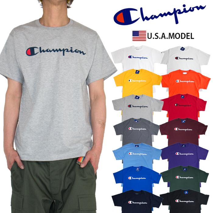6fa0ba877ac2 Champion T-shirt CHAMPION short sleeves T-shirt script logo men gap Dis USA  model
