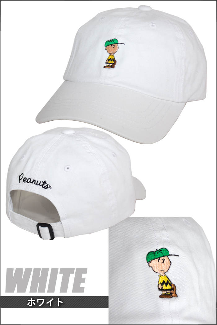 PLAYERZ  Charlie brown Snoopy cap SNOOPY cap hat SNOOPY TWILL WASH ... a8096998c7db