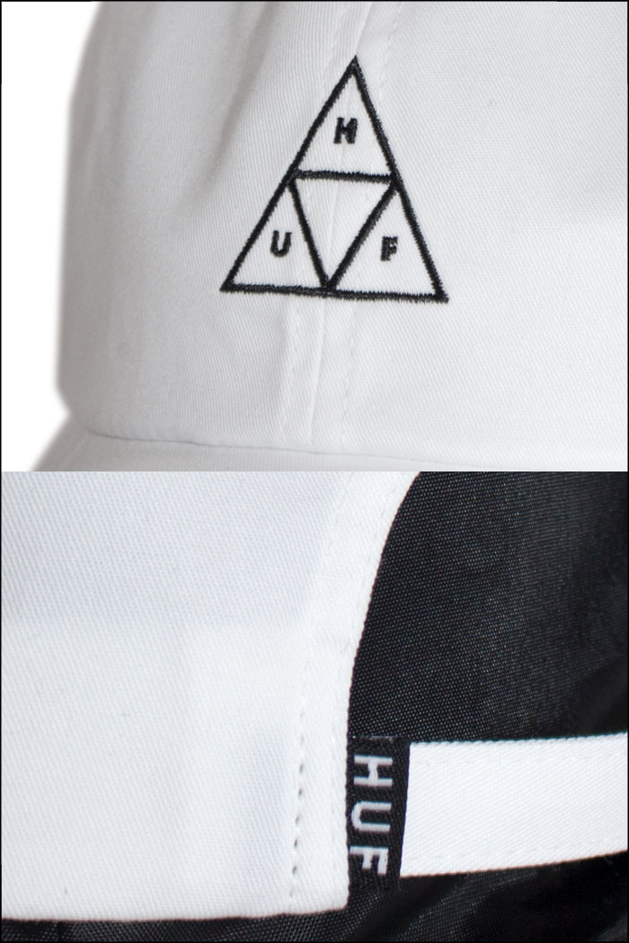 bb8100246 I present it in HUF cap Hough snapback cap hat white white Father's Day