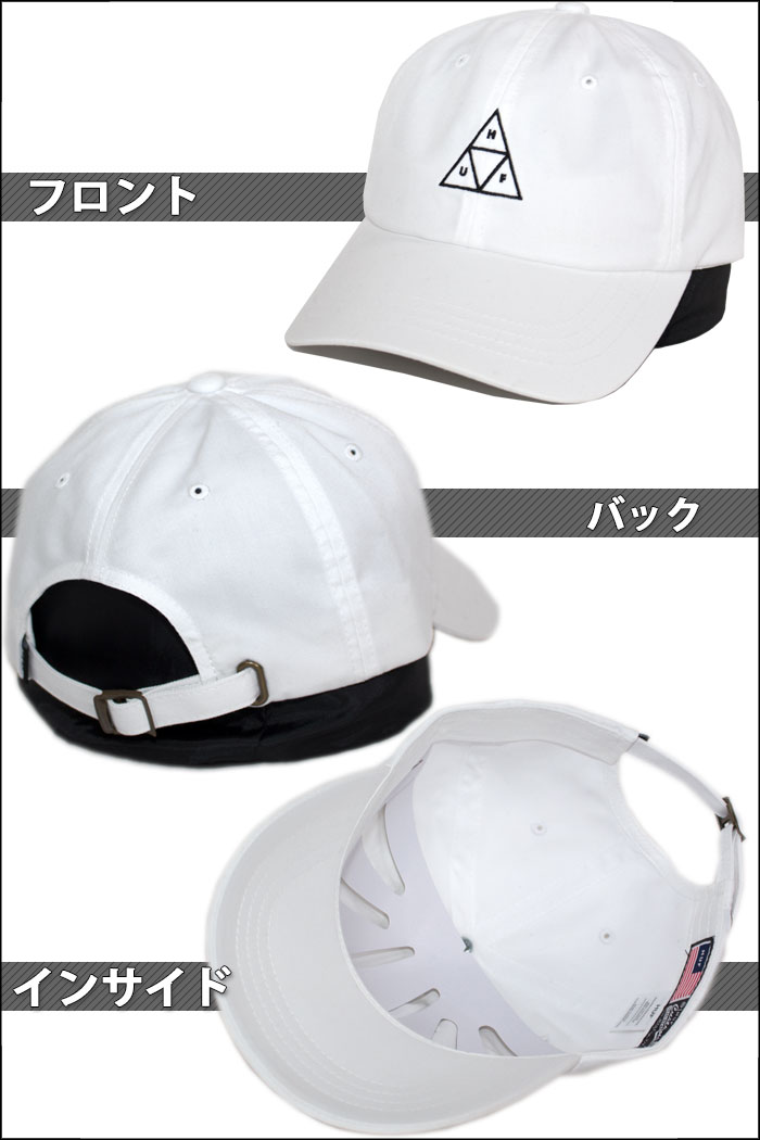 PLAYERZ  HUF cap Hough snapback cap hat white white  bab0260dbee0