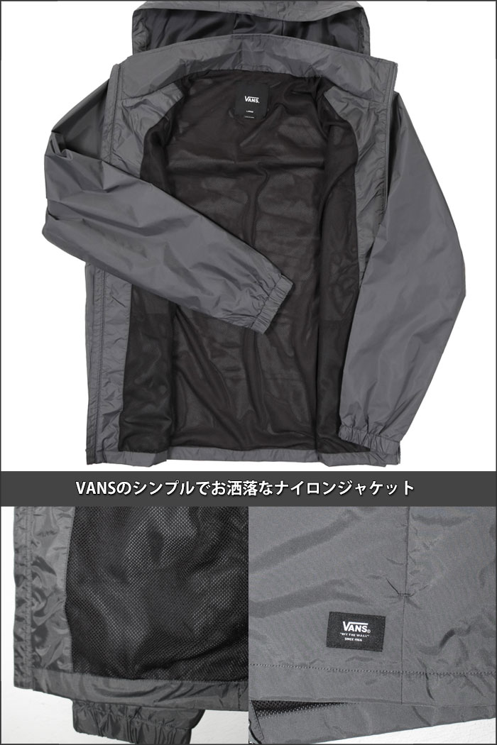 Playerz The Size That Vans Nylon Jacket Vans Vans Coach Jacket Men