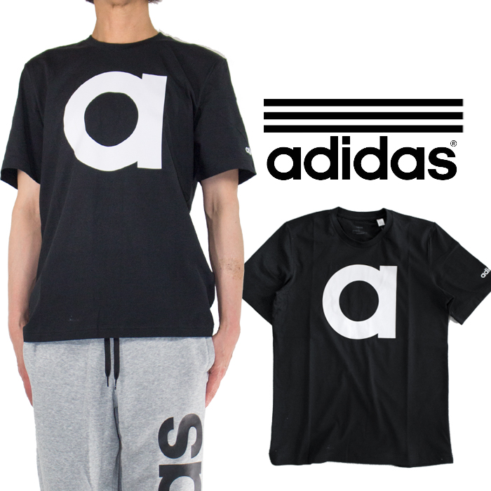 It is a present in the Adidas T shirt ADIDAS T shirt men gap Dis big logo hip hop street American casual size Adidas originals Father's Day which