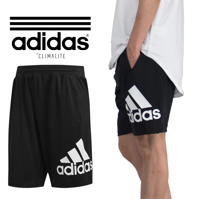 w magazynie aliexpress Hurt I present it in Adidas half underwear adidas underwear gym sportswear  soccer underwear sweat pants men black logos rim short pants jersey  material ...