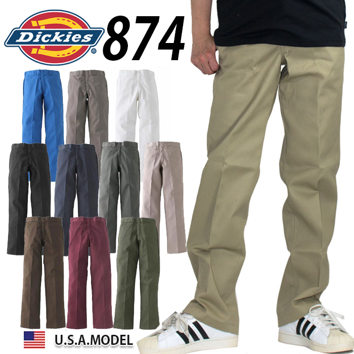 purchase genuine elegant in style pretty and colorful 36 inches of Dickies Dickies 874 work pants chino pants men's big size  straight American casual working clothes work clothes 38 inches 40 inches  42 ...