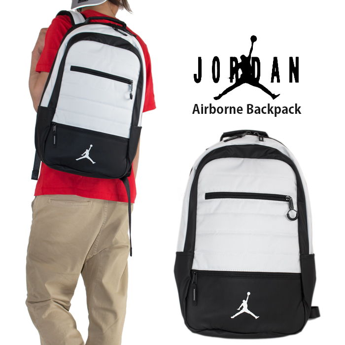 daeaba9a78 Jordan backpacks were received! A classic silhouette. Main compartment  inward equipped with pocket. I greatly took an opening to be able to easily  deposit ...