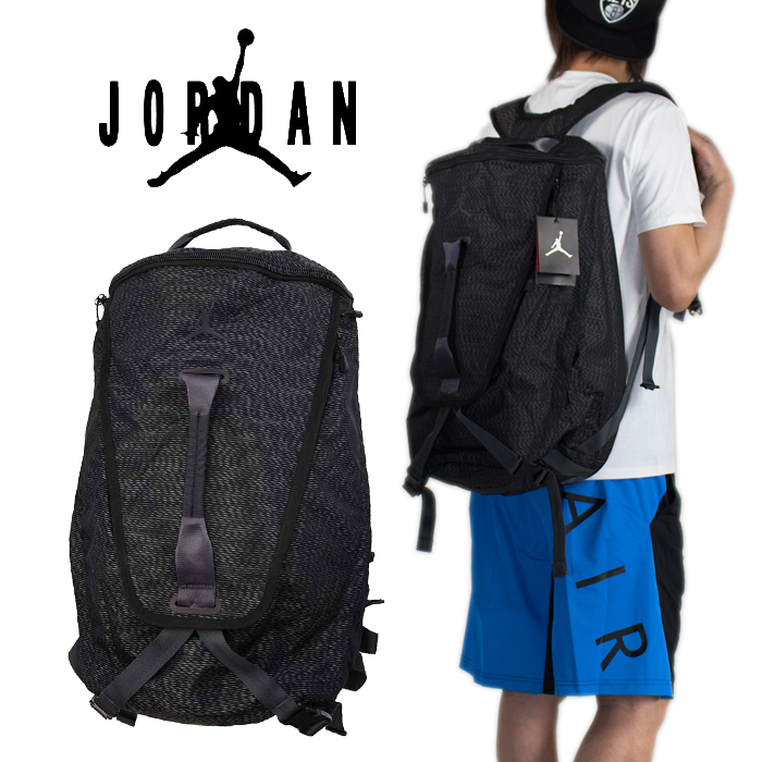 b95eb9e650 Jordan backpacks were received! By the top closure with the zipper and a  big main compartment. A thing extract it quickly and realizes a superior  storing ...