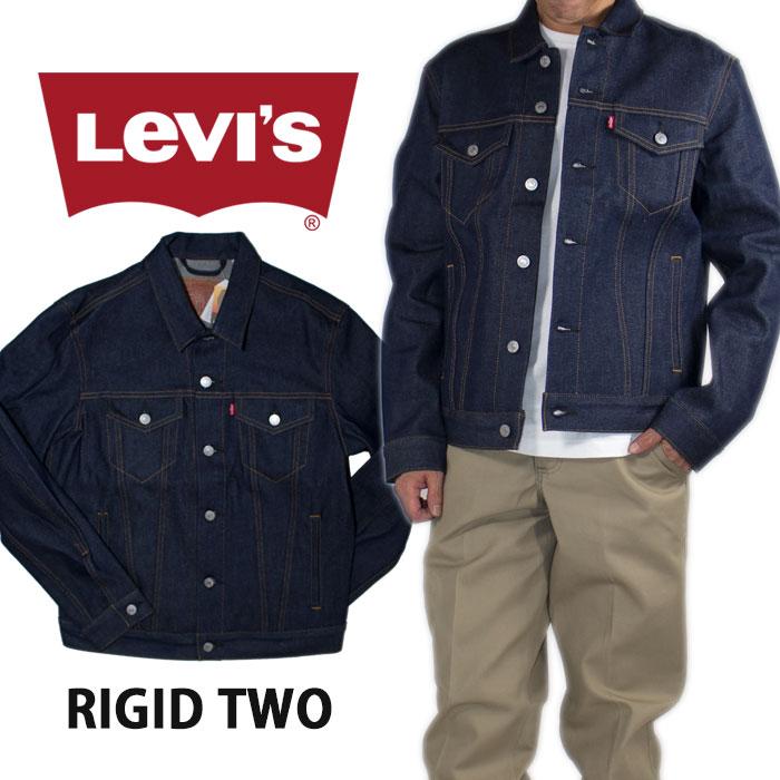 47b8a21f0 LEVI'S Levis Jean USA model big size trucker jacket denim jacket G Jean  denim jeans hip-hop dance street Lady's men wash Father's Day present