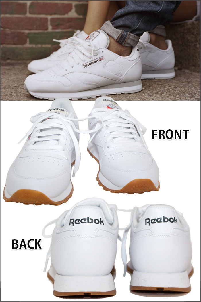 ffab331a94a Sneakers of the Reebok classical music (Reebok Classic) The classic leather  (CLASSIC LEATHER) is released in 1983 by a running category
