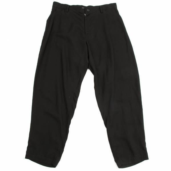 【SALE】リミフゥLIMI feu キュプラデザインパンツ 黒S【レディース】