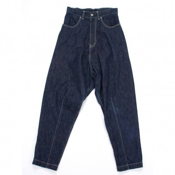 Wise Y' s denim sarouel pants blue 1