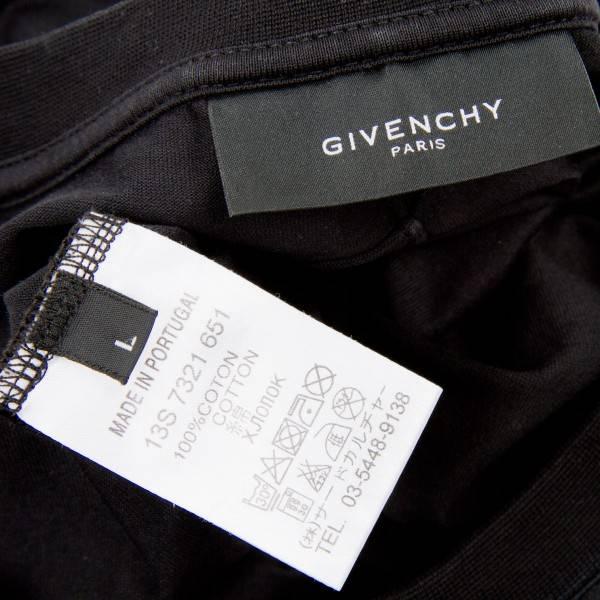 jibanshii GIVENCHY 13SS印刷T恤黑L