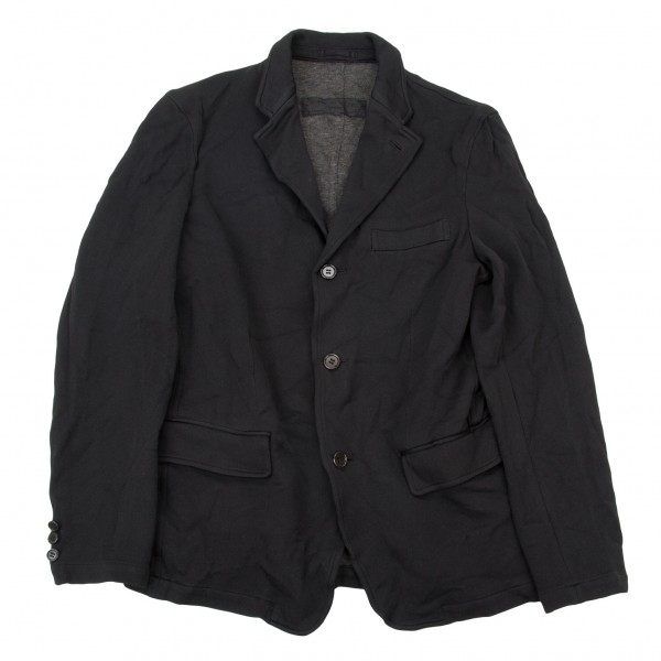 【SALE】コムデギャルソン オムCOMME des GARCONS HOMME バックライン製品染めジャケット 黒S