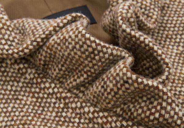 Max Mara Max Mara 周末线 frillapeldesign 羊毛夹克棕色 38