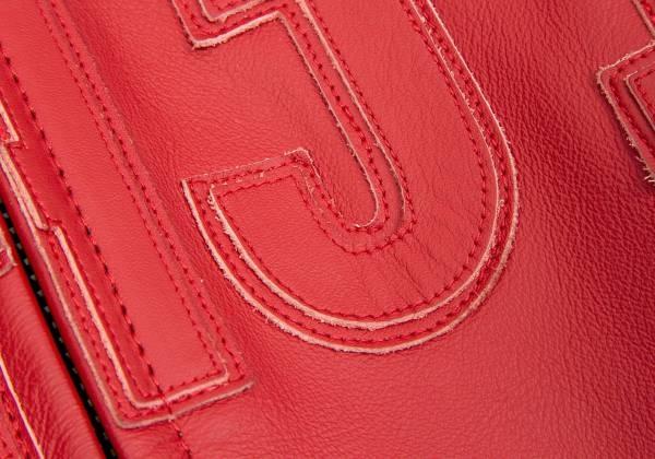 Yohji Yamamoto pour Homme x Dainese yohji yamamoto pour homme×DAINESE leather jacket red 54