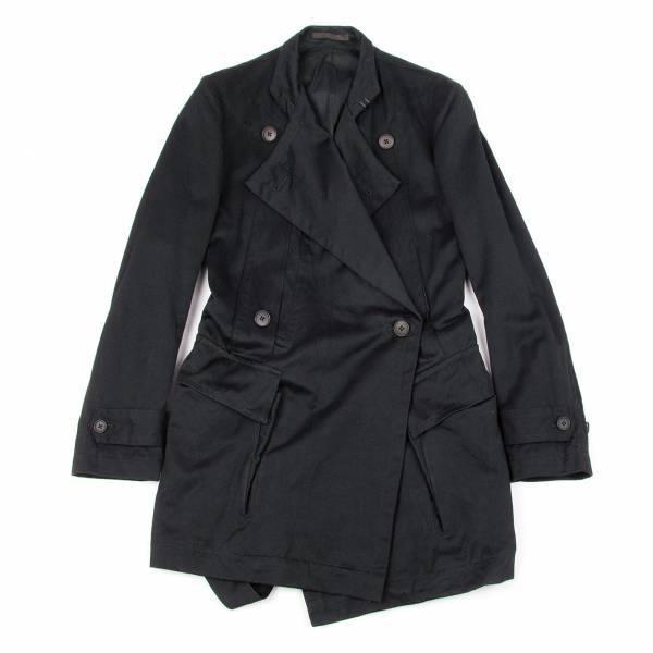 【SALE】ワイズフォーメンY's for men ベルトデザインハーフコート 黒1【メンズ】