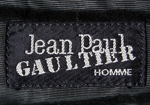 Jumporgoltierom 让 · 保罗 · 高缇耶洪姆乙烯手提包黑色