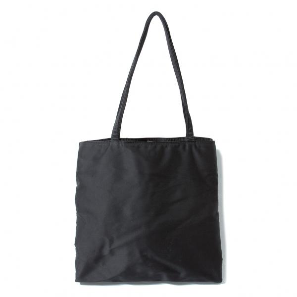 【SALE】ワイズY's 2重ナイロントートバッグ 黒【中古】