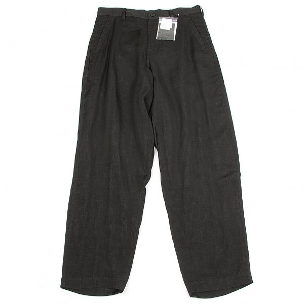ワイズY's ポケットベルトデザインパンツ 墨黒2【中古】