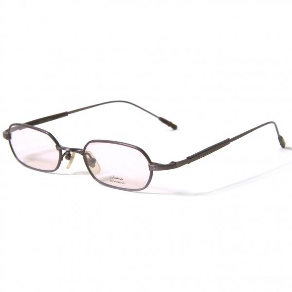 新品!サマ SAMA Eyewear 628 レンズ茶 パープル48□19 145