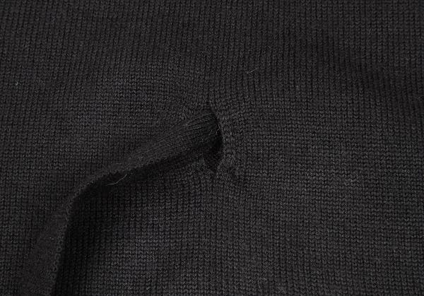 makkusumara Max Mara WEEKEND LINE羊毛編織物最好黑S