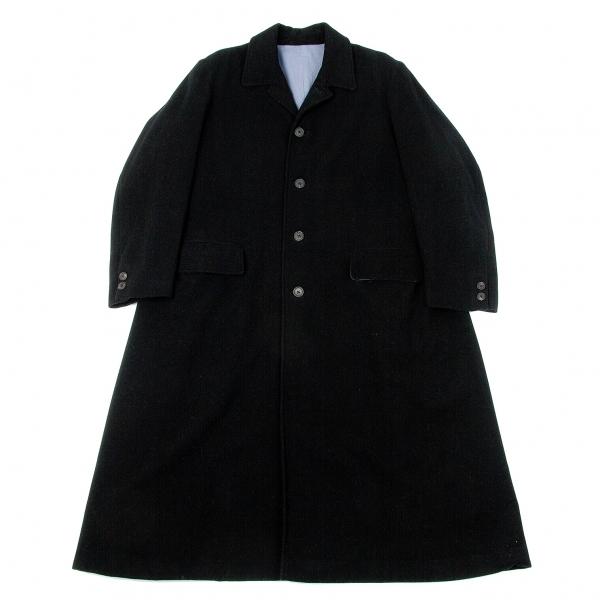 【SALE】ワイズフォーメンY's for men ウールロングジャケットコート 黒M【メンズ】