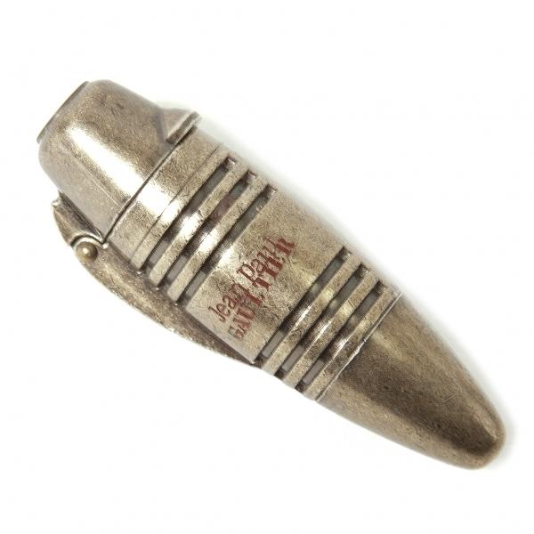 ジャンポールゴルチエJean Paul GAULTIER 弾丸型ガスライター 燻しゴールド【中古】