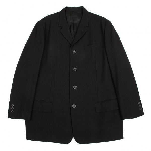 ワイズフォーメンY's for men ウールオールドギャバ4Bジャケット 黒3【中古】 【メンズ】