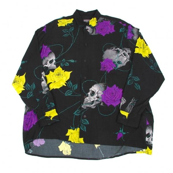 山本耀倒洪姆司设计山本倒洪姆高岛屋百货商场开放纪念 rayonzcalrose t 恤黑色黄色紫色其他 3