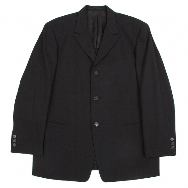 ワイズフォーメンY's for men ウールサマージャケット 黒M【中古】 【メンズ】