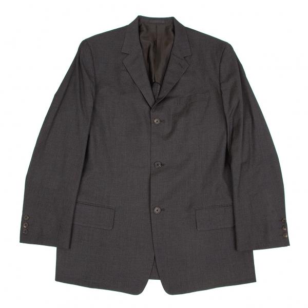 ワイズフォーメンY's for men ウールレーヨンテーラードジャケット 濃グレー4【中古】 【メンズ】