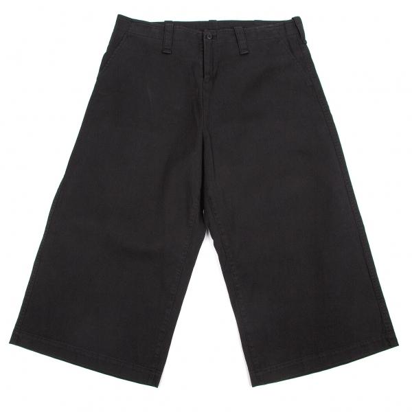 ワイズY's コットンワイドパンツ 黒2【中古】 【レディース】