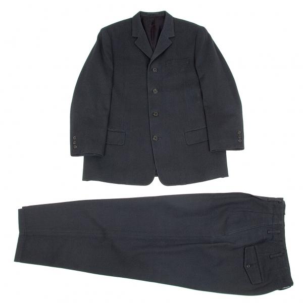 ワイズフォーメンY's for men コットンウールセットアップスーツ 淡紺3【中古】 【メンズ】