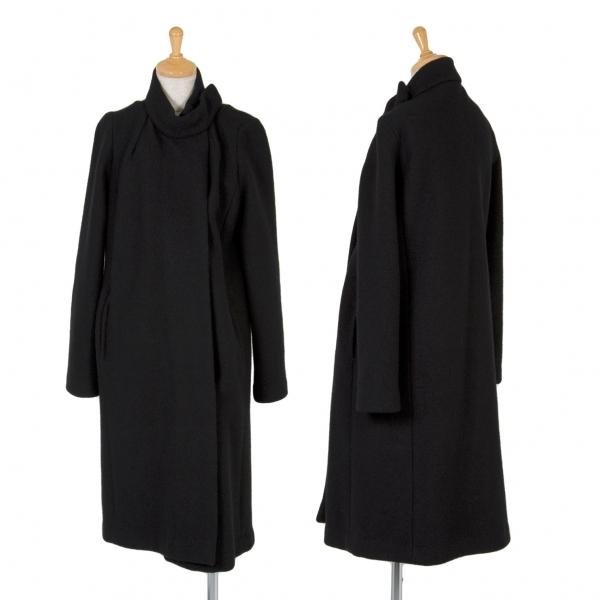 アーペーセーA.P.C. ウール圧縮マグネットコート 黒S【中古】