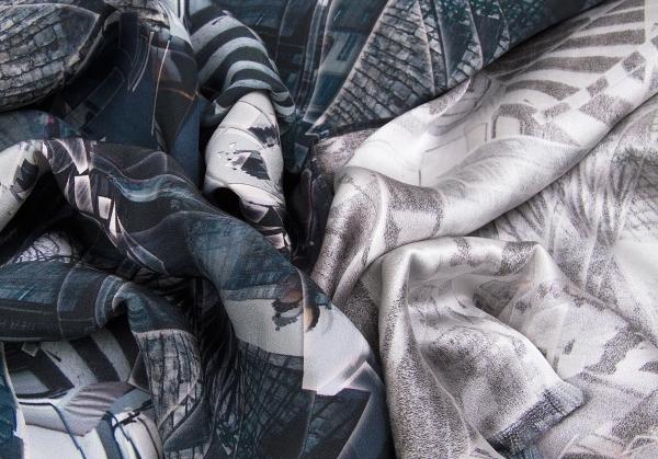 让·保罗·高提耶题材Jean Paul GAULTIER HOMME objet丝绸誊写印刷货摊紫色其他