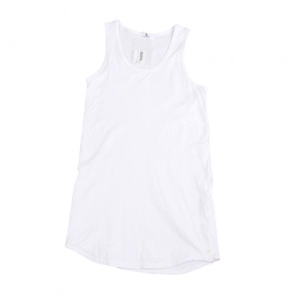 ワイズフォーメンY's for men コットン裾ボタンフライタンクトップ 白3【中古】 【メンズ】
