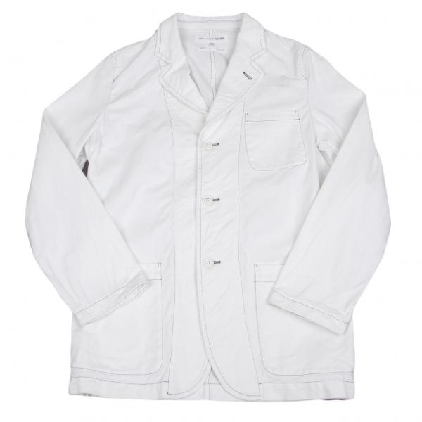 コムデギャルソンシャツCOMME des GARCONS SHIRT コットンパッチポケットジャケット オフM【中古】
