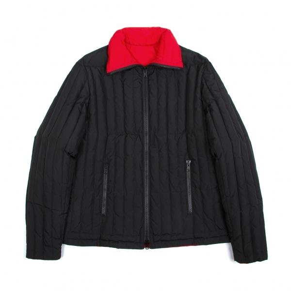 ワイズフォーメンY's for men ダブルジップキルトダウンジャケット 黒赤4【中古】 【メンズ】