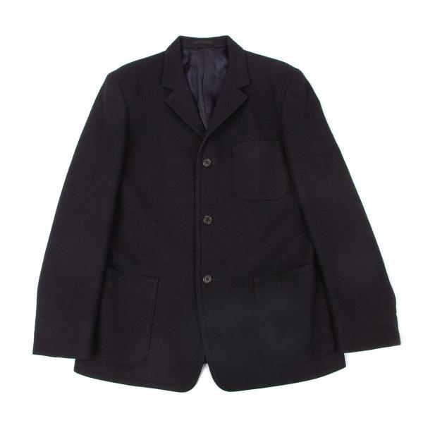 ワイズフォーメンY's for men ウールフェルトパッチポケットジャケット 紺M【中古】 【メンズ】
