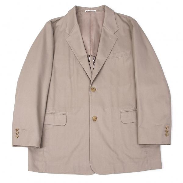 パパスPapas コットン2Bジャケット ベージュ50L【中古】