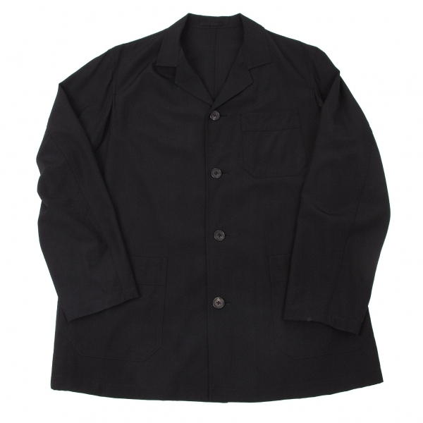 ワイズフォーメンY's for men ウールパッチポケットジャケット 黒S【中古】 【メンズ】
