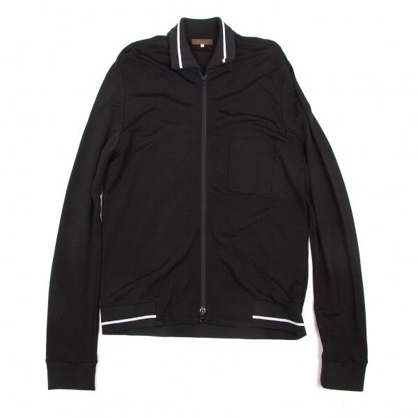 ワイズフォーメンY's for men リブライントラックジャケット 黒白4【中古】
