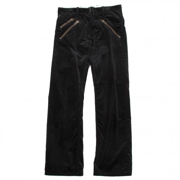 ポールスミスPaul Smith ベロアジップポケットパンツ 黒M【中古】 【メンズ】