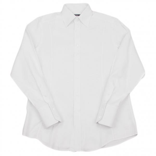 グッチGUCCI 綾織りシャツ オフXL位【中古】 【メンズ】