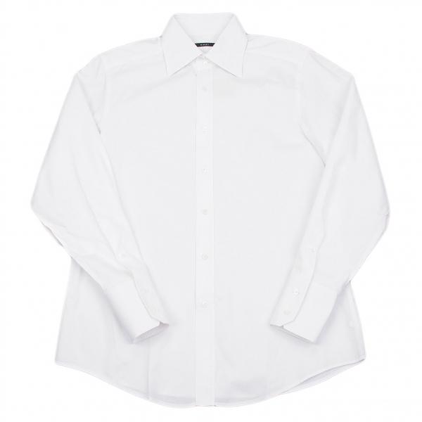 グッチGUCCI ダイヤ織りシャツ オフXL位【中古】 【メンズ】