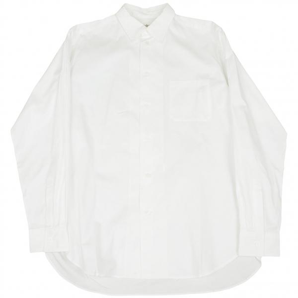 ヨウジヤマモトプールオムYohji Yamamoto POUR HOMME コットンギャバベーシックシャツ 白4【中古】