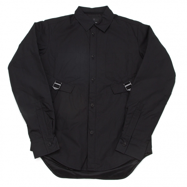 ワイスリーY-3 中綿パラシュートシャツ 黒XS【中古】
